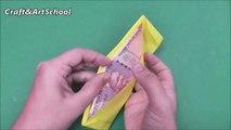 How to make origami paper wallet _ Origami _ Paper Folding Craft Videos & Tutorials.-iUn_Vr-u