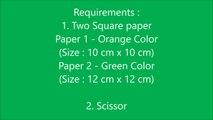 How to make simple & easy paper tulip flower _ DIY Paper Craft Ideas, Videos & Tutorials.-uY