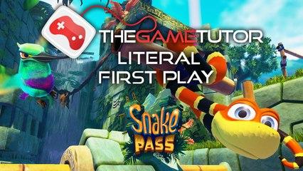 Snake Pass Literal First Play