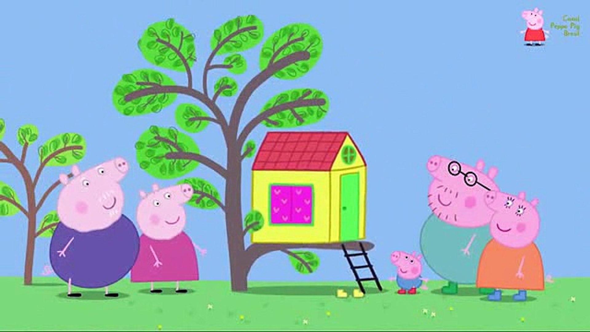 Peppa Pig Em Portugues A Casa Na Arvore Video Dailymotion
