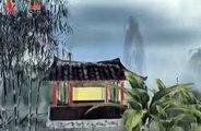 儿童 唐诗 吟唱 孟浩然《 春晓 》水墨画动画+配乐Ancient Tang Dynasty chinese poetry Tang shi
