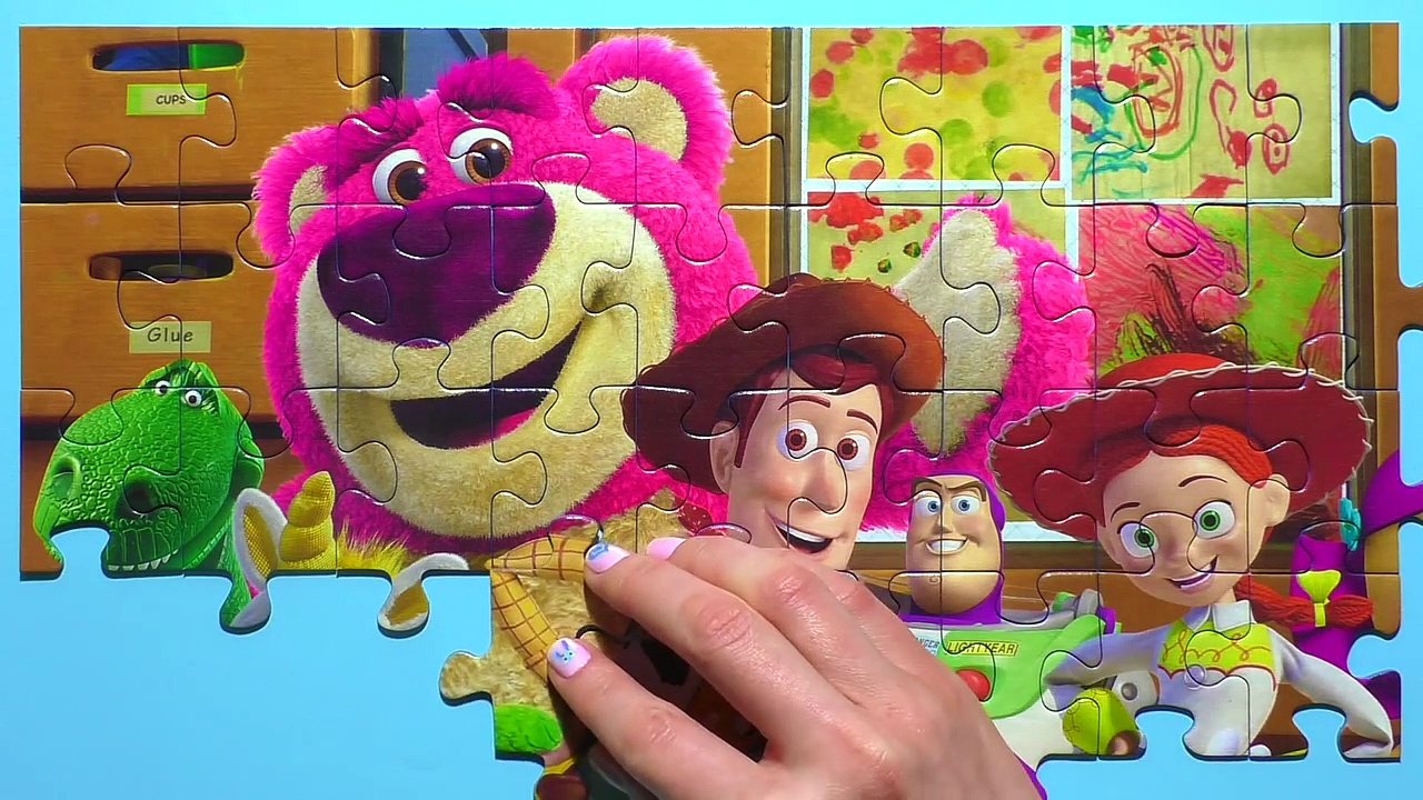 Learn Puzzle TOY STORY Potato Head, Woody