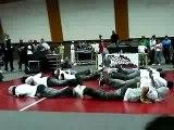 Battle royal danse hip hop krump à l'Institut du Judo