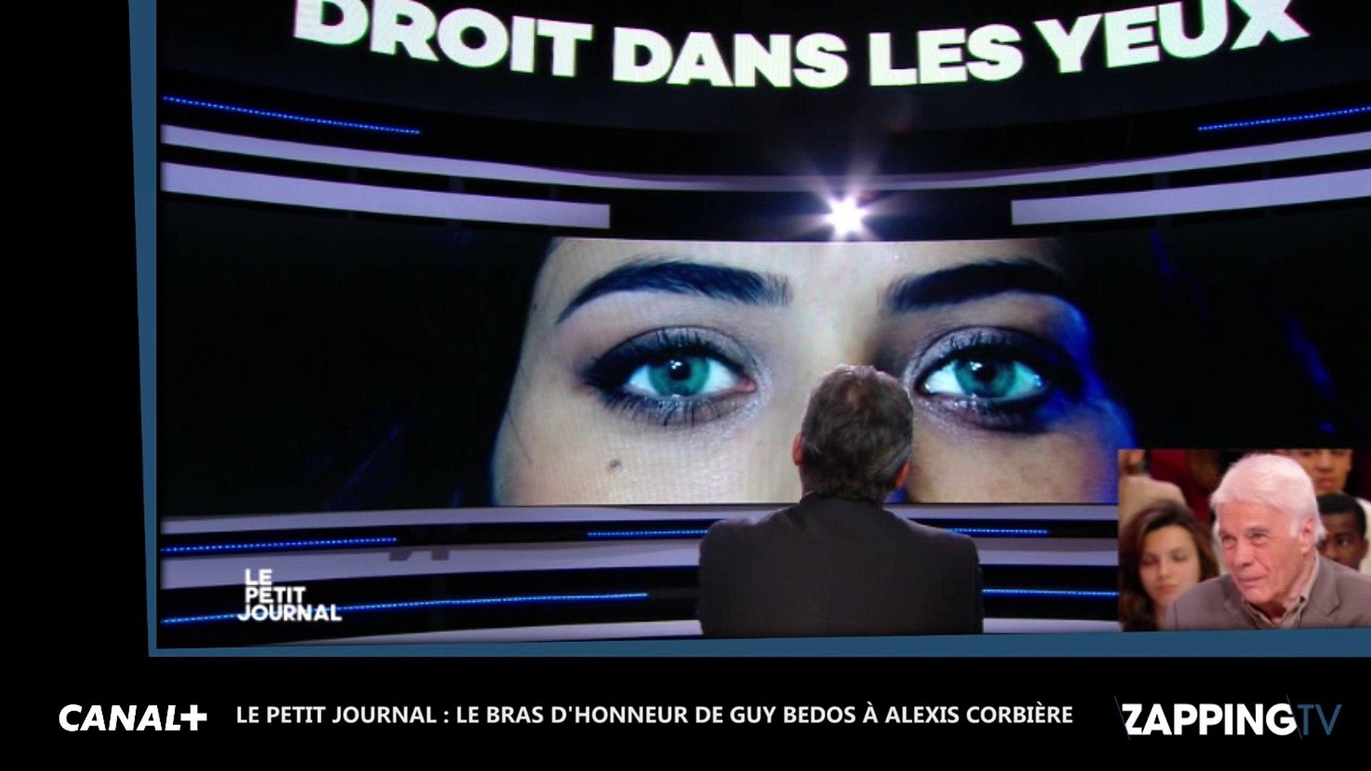 Guy Bedos fait un bras d'honneur au porte-parole de Jean-Luc Mélenchon (vidéo)