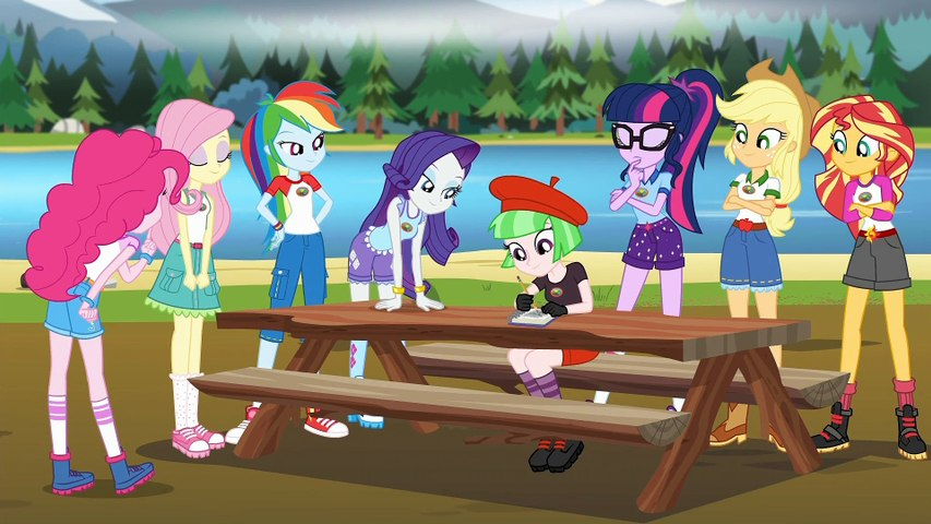 My Little Pony: Equestria Girls Legend of Everfree (Part 1)