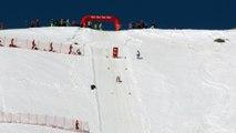Ski de vitesse à Vars :  Simon Billy chute à 210 km/h
