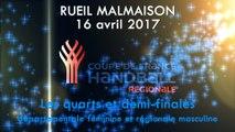 Coupe de France - Rueil Malmaison 1/4 et 1/2 finales départementales Filles et régionales Garçons