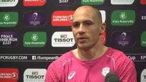 Sergio Parisse : « Jouer une demi-finale chez nous »