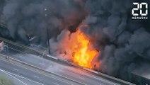 Une autoroute prend feu aux USA- Le Rewind du vendredi 31 mars 2017