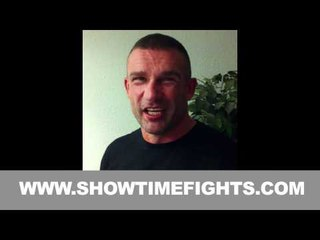 PETER AERTS READY TO FIGHT @ IT'S SHOWTIME 58
