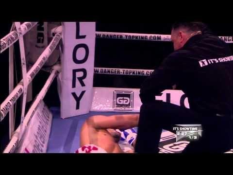KICKBOXING KO - DJABBA vs RISTIE - IT'S SHOWTIME 58 Brussels