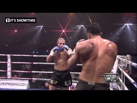 FIGHT: Badr Hari TKO vs Gokhan Saki - Retirement fight IT'S SHOWTIME 55