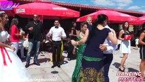 Bulgar Romanı Sokak Düğünü - Muhteşem Düğünde Mahalleliden Muhteşem Kuchek Ve Oryantal