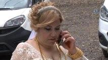 Gelin Aracı Düğün Günü Soyuldu... Hırsızlar 12 Bin TL Çaldı, Gelin ve Damat 1 Nisan Şakası Sandı