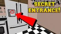PopularMMOs Pat and Jen Minecraft׃ THE SECRET FRIDGE ENTRANCE!!! - Crack The Case - Custom Map [2]