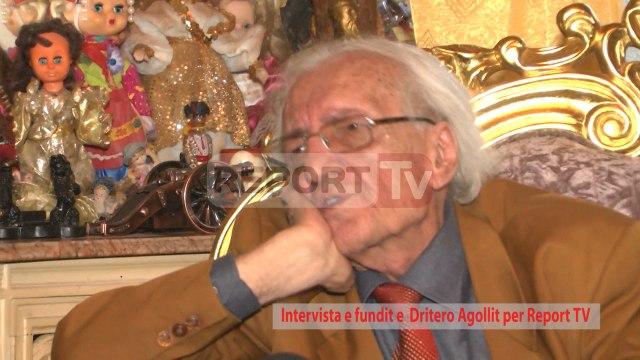 Report TV - Intervista e fundit e Dritëroit për Report TV ku rrëfen jetën e tij