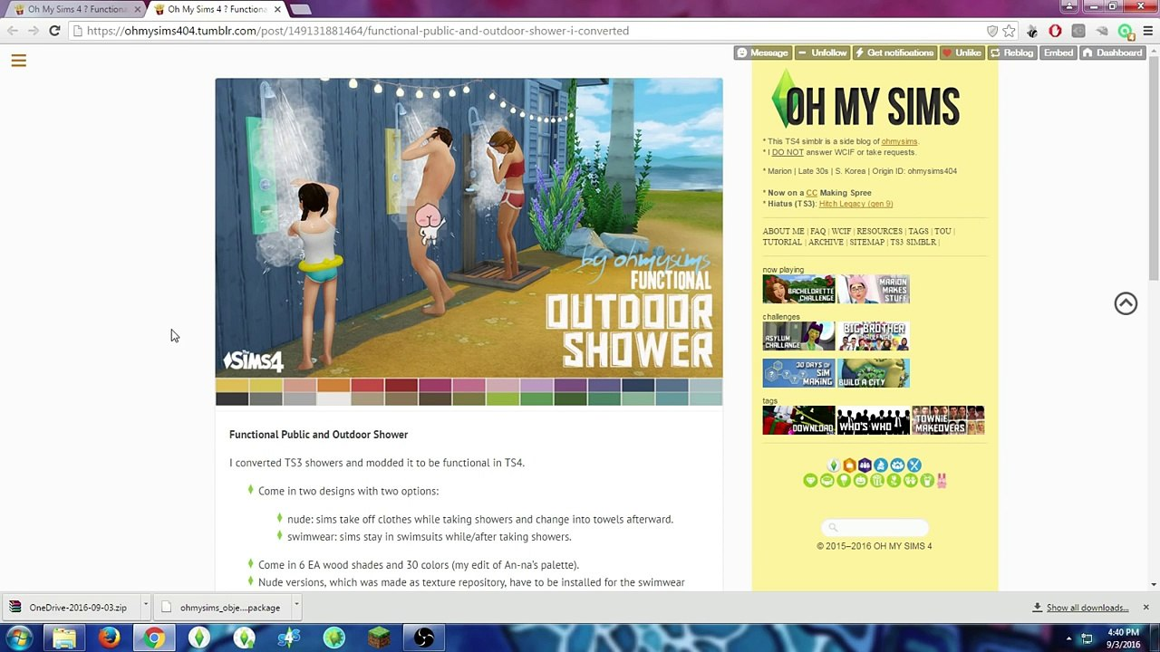 LOS SIMS 4 l In-Ground Hot Tub y Outside Shower (MOD REVIEW/OVERVIEW)