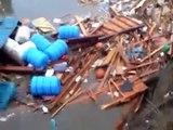 【津波動画】東日本大震災 大船渡市の津波Part.1/3 JAPAN TSUNAMI 2011.3.11