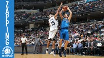 Zapping - Vince Carter contre l'incontrable fadeaway de Dirk Nowitzki