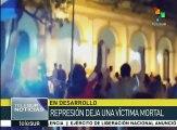 Paraguay: muere joven dirigente tras ingreso de la Policía al PLRA