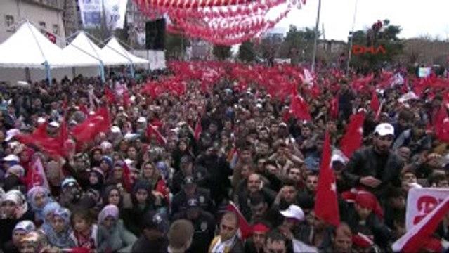 Diyarbakır - Erdoğan PKK Yanlıları 'Barış Barış' Diyor, Soruyorum; Elde Silah Varken Barış Olur mu 7