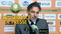 Conférence de presse Stade Lavallois - AC Ajaccio (1-1) : Marco SIMONE (LAVAL) - Olivier PANTALONI (ACA) - 2016/2017