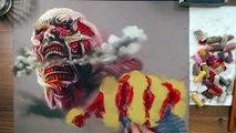 Dessiner Colossal Titan - Attaque des Titans