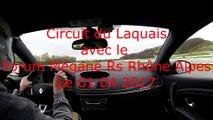Megane RS 3 avec Forum Mégane RS Rhône Alpes & RENAULT SPORT