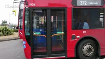 London Buses at Rainham, Essex March 2017