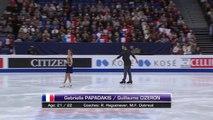 ChM 2017 de patinage artistique, programme court de danse sur glace, Gabriella Papadakis et Guillaume Cizeron, 31 mars 2017