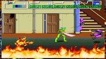 Teenage Mutant Ninja Turtles TMNT Arcade Game 1989 Retro Stage 1 Walkthrough