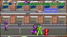 Teenage Mutant Ninja Turtles TMNT Arcade Game 1989 Retro Walkthrough Stage 2