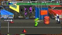 Teenage Mutant Ninja Turtles TMNT Arcade Game 1989 Retro Walkthrough stage 4