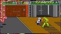 Teenage Mutant Ninja Turtles TMNT Arcade Game 1989 Retro Walkthrough stage 6
