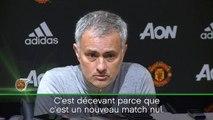 """30e j. - Mourinho: """"Trop de matches nuls à domicile"""""""