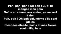 Lacrim Ft. Booba – Oh Bah Oui  (Lyrics⁄paroles)