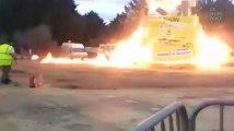 Les images impressionnantes de l'explosion du carnaval de Villepinte