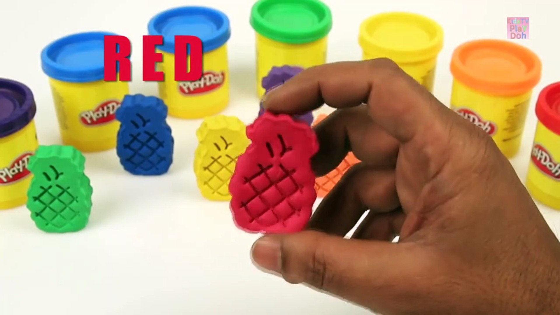 s with Play Doh for KIds _ Learning Colors for Kids _ Kids Color Song _ Kids Rainbow