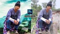 Photoshop Cinematic Background Manipulation (Part 1 of 2) - Photoshop CC Tutorial