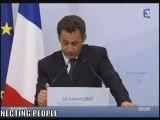 Detournement Sarkozy G8 2007