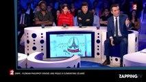 ONPC : Florian Philippot lance une pique à Clémentine Célarié (vidéo)