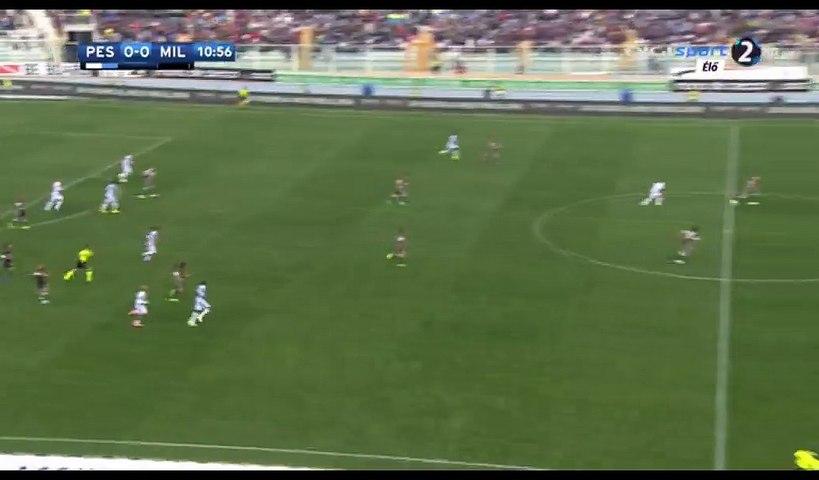 Paletta G. (Own goal) HD - Pescara 1-0 AC Milan - 02.04.2017