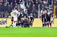 Beşiktaşlı Fabri, Yüzüne Gelen Top Sonrasında Maça Devam Edemedi