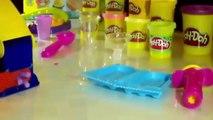 [Padu] Play Doh Ice Cream Swirl Shop Surprise Eggs Toys asdSpongebob - Play Doh Ice Cream Playd