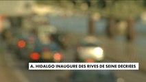 """Malgré la polémique, Anne Hidalgo inaugure les """"Rives de Seine"""" - France"""