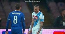 Marek Hamšík Fantastic Attempt to Score - Napoli vs Juventus - 02.04.2017