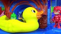 PJ MASKS Tub Bath Time oap Colors, Giant Rubber Duck Superhero IRL Toy Sur