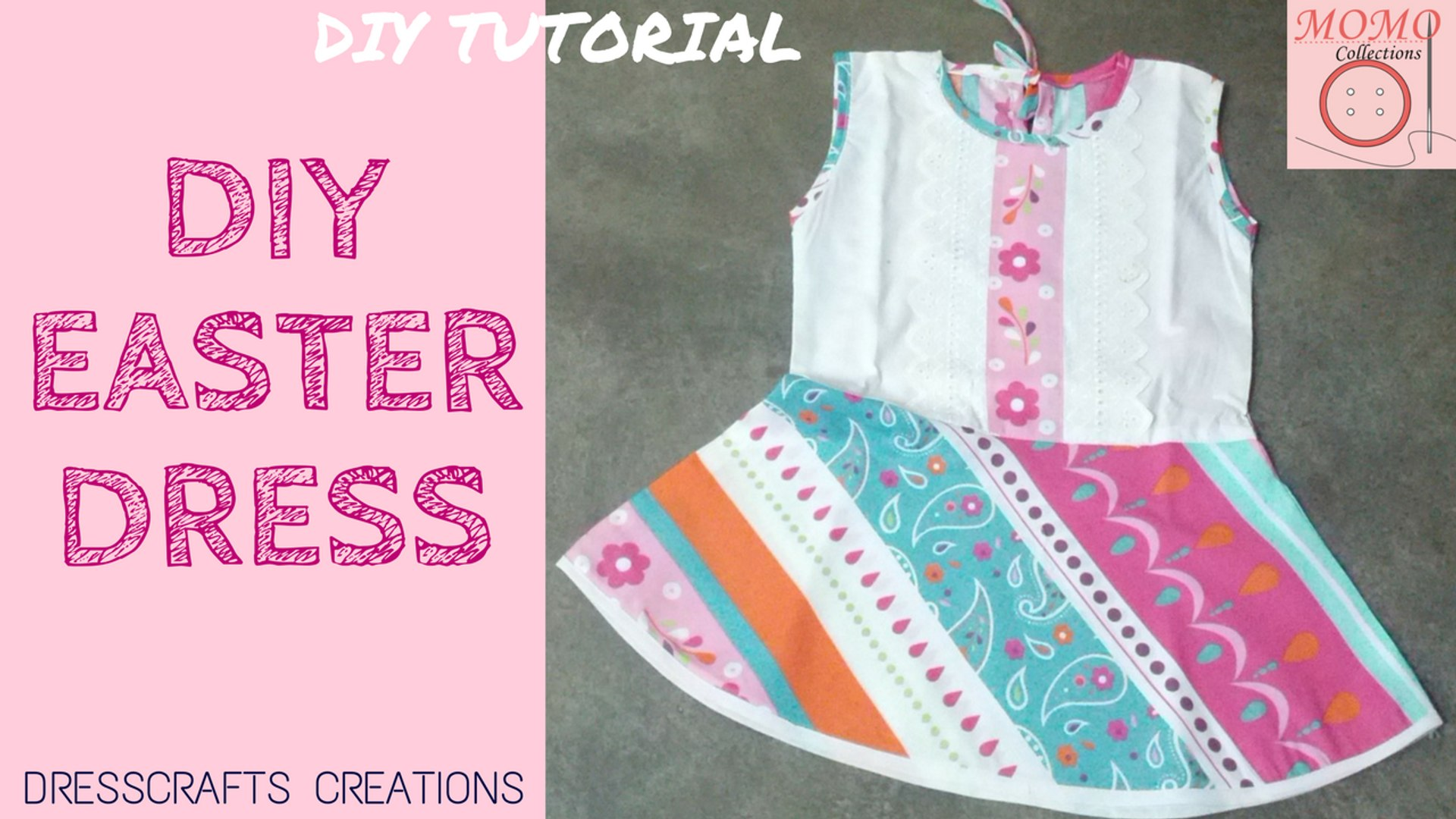 5b565d865ddb4 DIY Easter Dress | Sew Floral Frock
