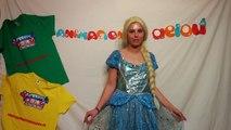 """Canción Frozen con baile y letra """"libre soy"""" de Elsa"""