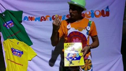 Colouring book o libro para colorear: truco de magia infantil, para niños